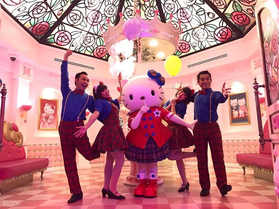 Sanrio Hello Kitty Town & Thomas Town Ticket Johor Bahru